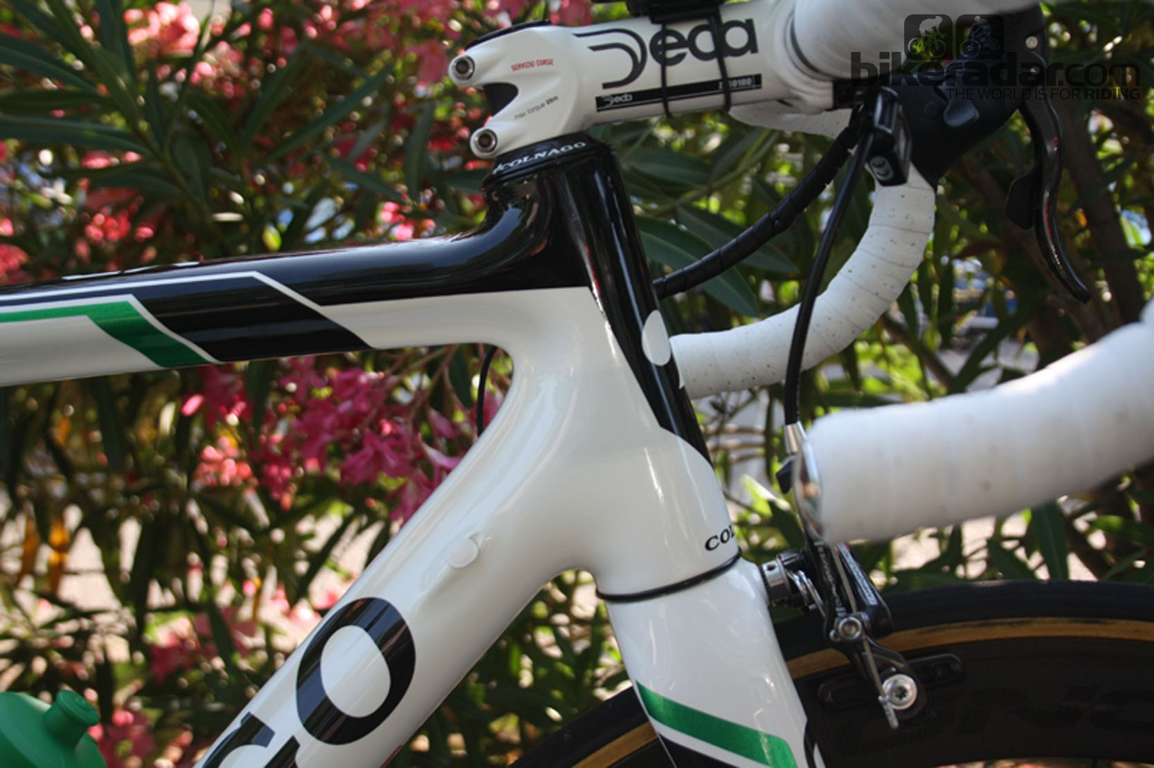 The frame has been given a longer head tube – a development that will give the bike mass market appeal as well as benefits over the pavé