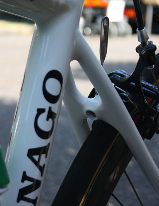 The CX Zero features fairly narrow seatstays that should also dampen vibration