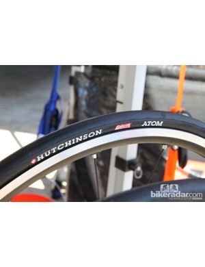 Hutchinson's new Atom Galactik tubeless road tire supposedly weighs just 240g in a 700x23mm size