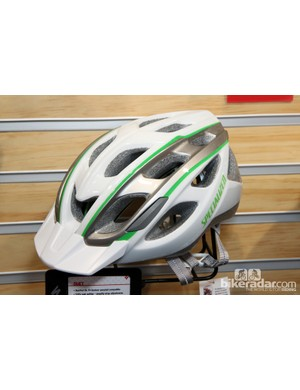 Specialized designed the new Duet women's-specific helmet with a trimmed-down profile for a sleeker appearance - but strangely, it's only offered in a one-size-fits-all shell
