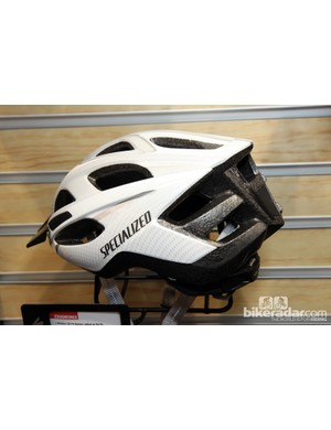 The bare foam on the rear of the new Specialized Chamonix helmet is unfortunately susceptible to dents and dings