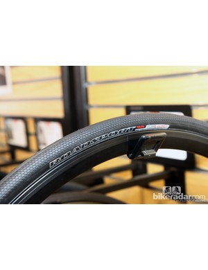 The new Specialized RoadSport tire is designed for high-mileage training with a light tread and Flak Jacket-reinforced casing