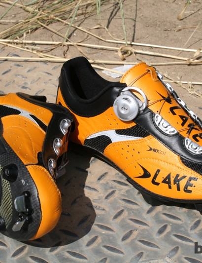 Lake's new top of the range MX331CX shoe is aimed at the serious cross country racer, they're available to order now, for supply at the start of September, and will cost £269