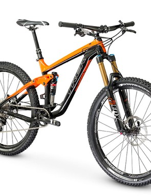 The 2014 Trek Slash will only be available with 650b (27.5in) wheels