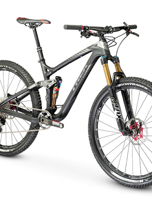 The 650b Remedy has 140mm of travel, 10mm less than the 26in-wheeled bike it replaces