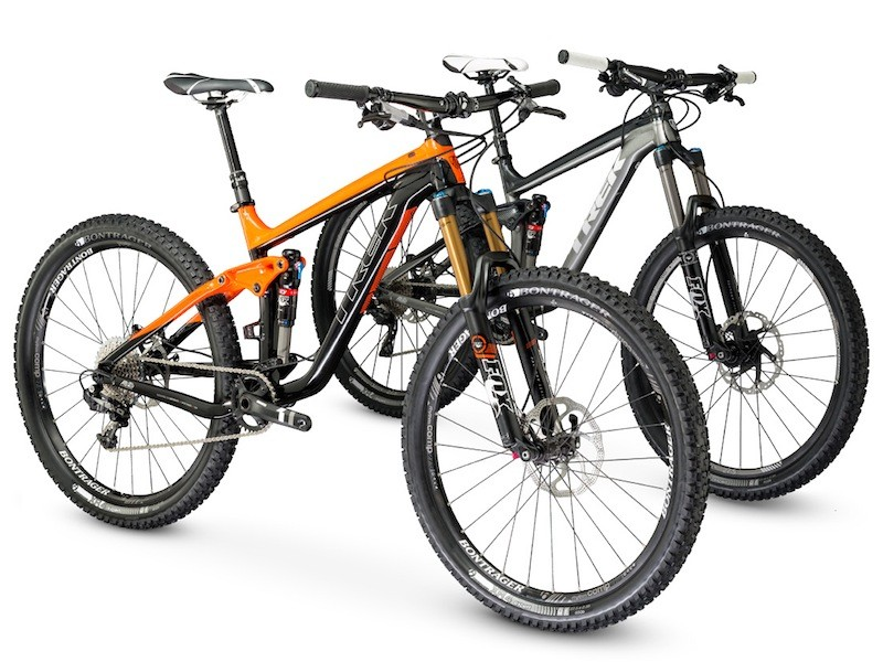 For 2014, the Trek Remedy and Slash will be available with 650b (27.5in) wheels; both models will be available this fall