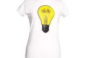 Veleco light bike women's organic cotton t-shirt