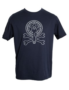 Veleco crank and spanners men's organic cotton t-shirt