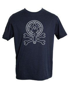 Veleco crank and spanners men's organic cotton t-shirt