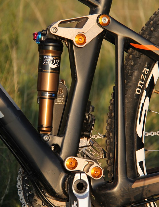 BMC uses a dual-link suspension design, similar to the dw-link and Giant's Maestro design