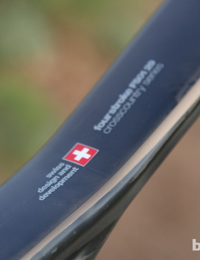 BMC's Swiss heritage is reflected in the parts kit; this is one of three build levels available for the FS01 29, and this XTR-equipped bike is specced for steep climbs and long descents
