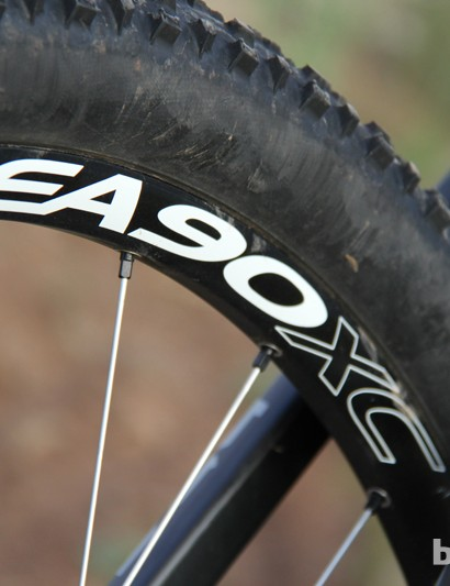 The only issue we had with the bike's spec, in terms of reliability, was the Easton EA 90 wheelset, which didn't match the frame's stiffness; we had issues with freehub engagement as well