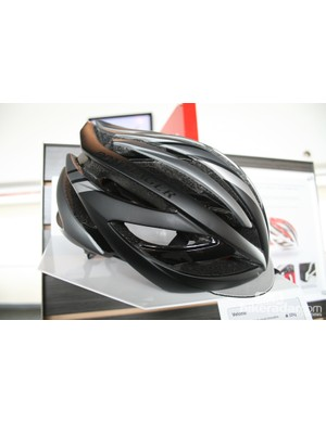 The Bontrager Velocis helmet is a pro-level race lid with a much lower profile and better venting than previous models. The inner structure has been designed for lighter weight and better strength, plus improved airflow. The detachable cap-peak is ideal for hot days when riders want protection from sun glare but don't want the extra heat of a cap