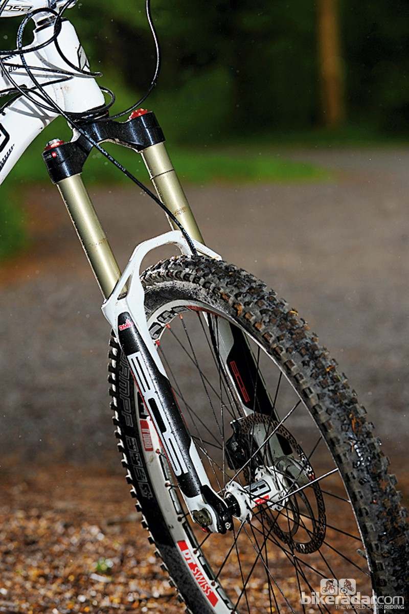 The Bos Deville is one of the best 160mm travel forks we've tried. It offers superb support