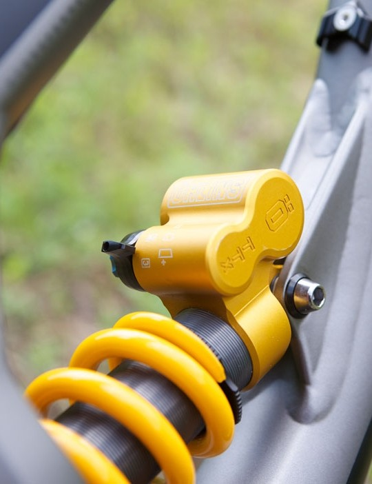Öhlins are masters of what they do, so this slightly different take on a rear damper could well set the new standard in downhill mountain bike suspension
