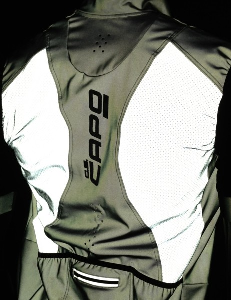Capo's new Padrone HiVis line features strong reflective elements