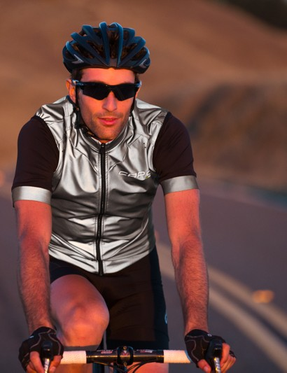 The Padrone line is designed as high-end, Italian-made road gearthat also has plenty of safety elements