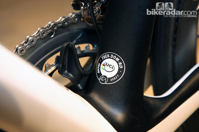 The UCI have been enforcing their frame standards at the 2013 Tour de France