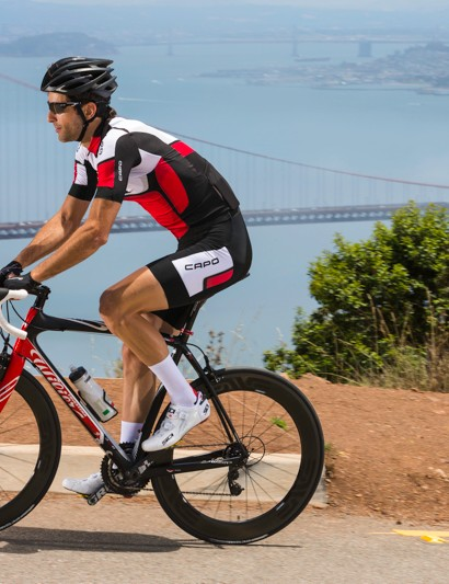 Capo's Ceramica kit, on show in the Marin Headlands just north of San Francisco
