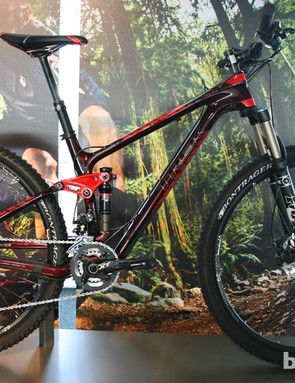 New for 2014 is the £4,000 Fuel EX 9.8 29 (US pricing TBA), a carbon 29er version of the 26in-wheeled Fuel EX. Trek are using their G2 geometry on the bike, to give a fast, agile and confident ride