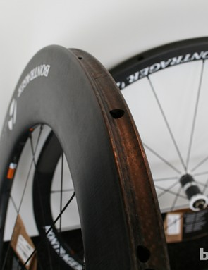 Bontrager produce a range of carbon wheelsets, with the Aeolus being the range-topper. Tubular and clincher varieties are available at a range of rim depths