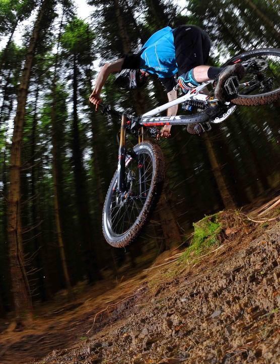 BikePark Wales black trail