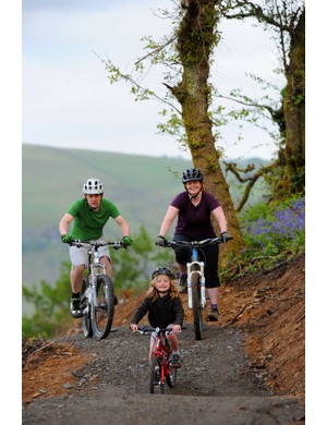 BikePark Wales family trail