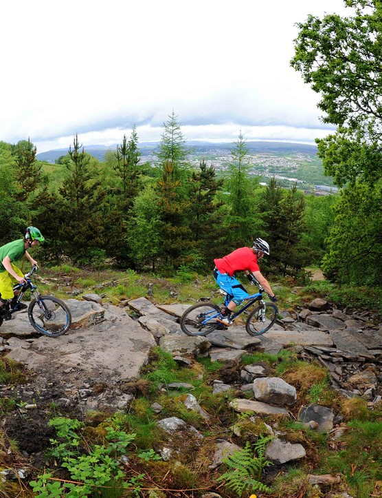BikePark Wales red trail