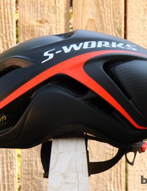 In profile, the Evade isn't that different to Specialized's full-blown McLaren time trial helmet