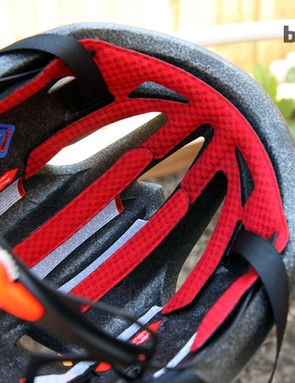Generous padding on the S-Works Evade makes for impressive comfort