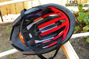 The cross-section of the Specialized S-Works Evade is notably longer than on typical road helmets