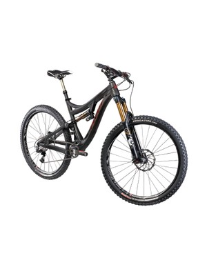 The Mach 6 is one of three new 2014 bikes from Pivot. It has 650b (27.5in) wheels and 155mm of rear suspension