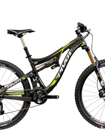 The Mach 6 features a refined suspension design that Pivot claims makes it more supple over small and medium bumps
