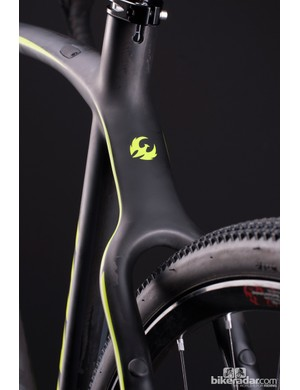 Similar covers are used on the seatstays as well