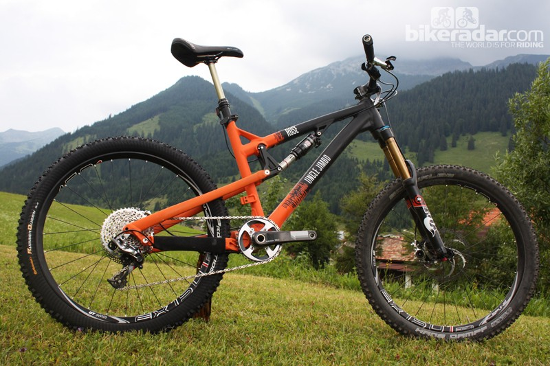 The Uncle Jimbo is a 165mm enduro-ready ride