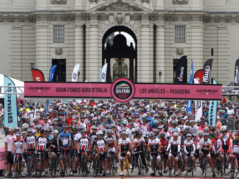 The Gran Fondo Giro d'Italia series is expanding to Jerusalem and Beverly Hills