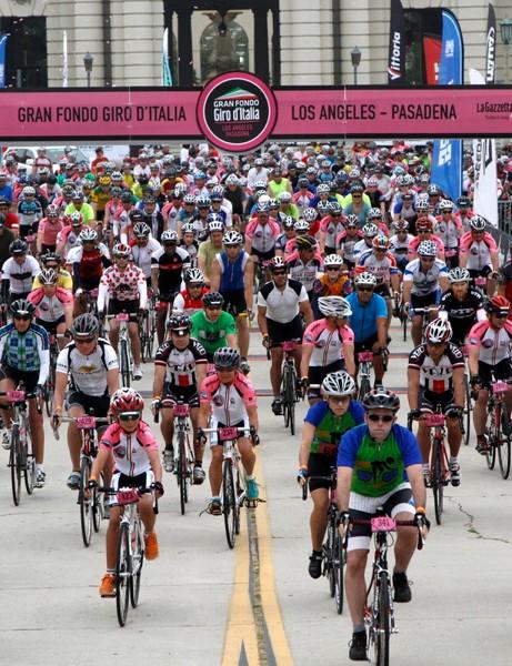 The Gran Fondo Giro d'Italia series already includes four US stops
