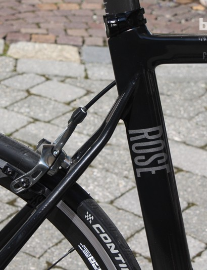 The aero frameset of the Xeon CW remains unchanged for 2014