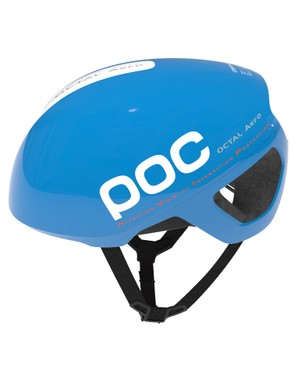 POC have released photos of this aero version of the Octal, in Garminium Blue. No prizes for guessing which WorldTour team the company are sponsoring in 2014