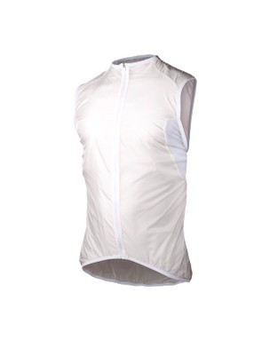 POC's Light Wind Vest is extremely light, and crumples to little more than a handful, making it very easy to stow in a back pocket