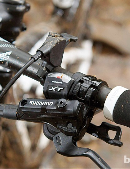The Shimano XT transmission is trustworthy kit