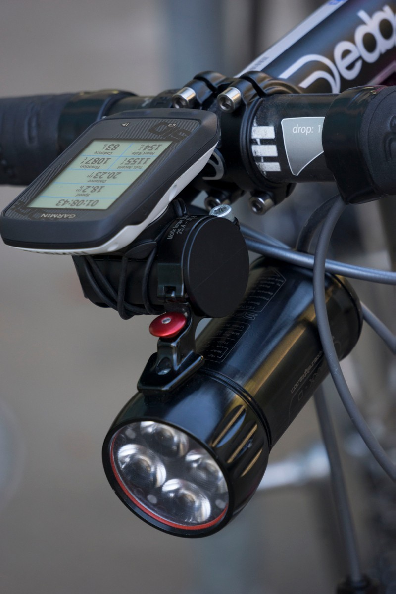 The Tate Labs Bar Fly Universal Mount can handle multiple items