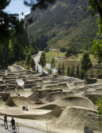 Gorge Road dirt jumps feature in NotBad, the new production from Anthill Films