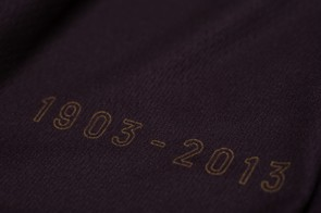 The Victroy Jersey also carries a neat reminder that it's been 110 years since the first Tour