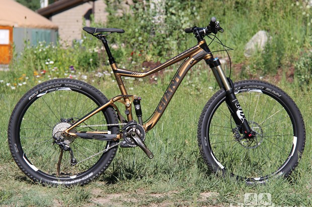 Giant's 2014 mountain bike line includes seven men's and five women's 650b (27.5in) mountain bikes. The new models will be available later this summer