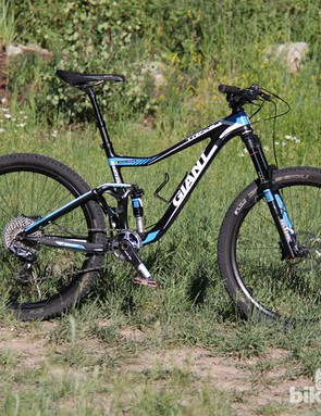 The Trance Advance 27.5 is a lightweight trail bike with 140mm of front and rear suspension. The Trance Advanced 27.5 0 shown here will retail for US$7,725 (UK prices TBA)
