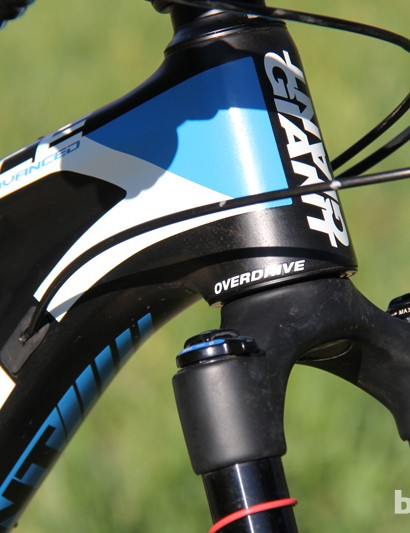 All of Giant's mid- and high-end mountain bikes use the OverDrive head tube, which tapers from 1.25in (as opposed to 1.125in) to 1.5in