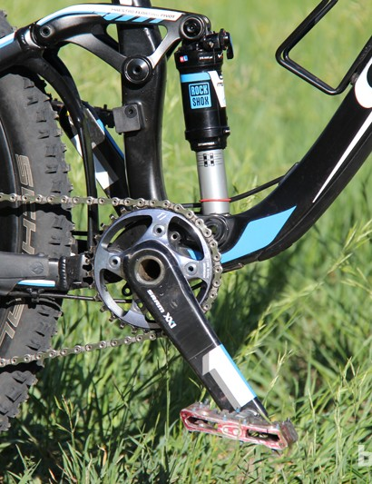 SRAM's XX1 group is used on the Trance Advanced 27.5 0