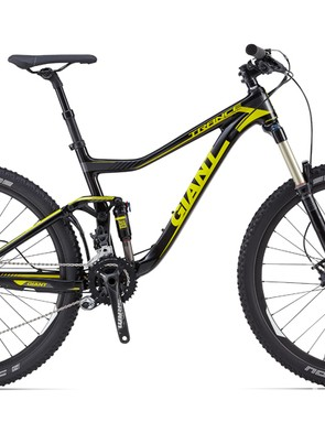The Trance Advanced 27.5 2 has a SRAM X7/X9 drivetrain, Avid Elixir 7 brakes, and a RockShox Sektor fork. It will not be offered in the US for 2014