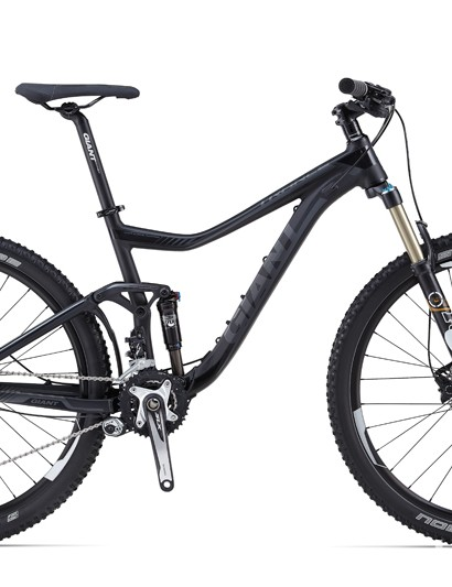 The stealthy Trance 27.5 2 has a mostly SLX drivetrain and brakes. It will not be offered in the US for 2014